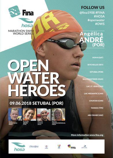 ee43f90c2 12.ª edição FINA Marathon Swim World Series 2018 Setúbal - Atletismo ...